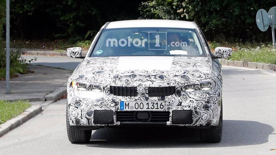 BMW Série 3 Photos espion