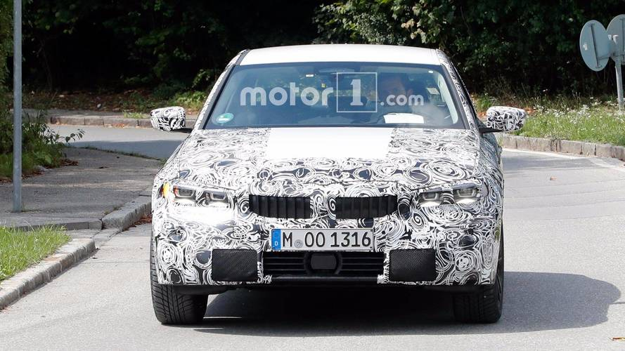 BMW 3 Series Spy Shots With Interior