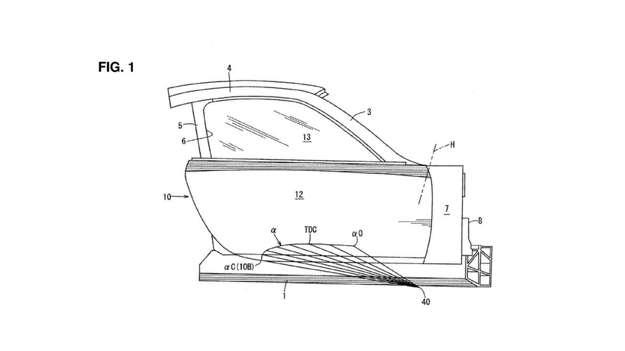 Mazda kapı patenti