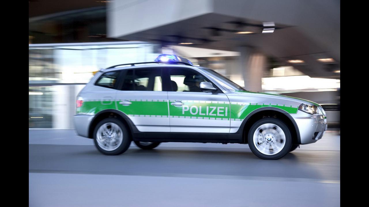BMW X3 con la polizia bavarese