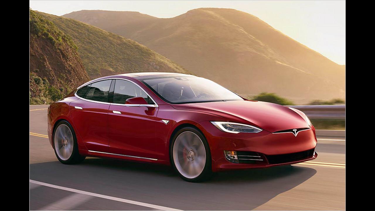Tesla Model S: bis zu 632 km