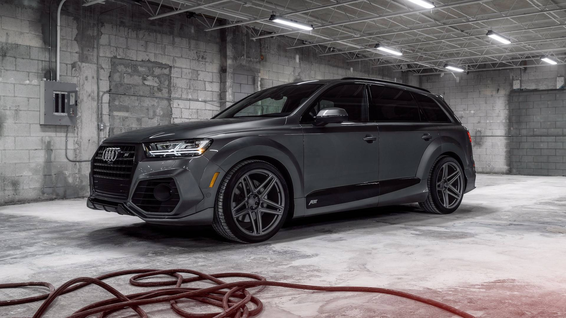 Abt And Vossen Team Up For A Mean Looking Audi Q7