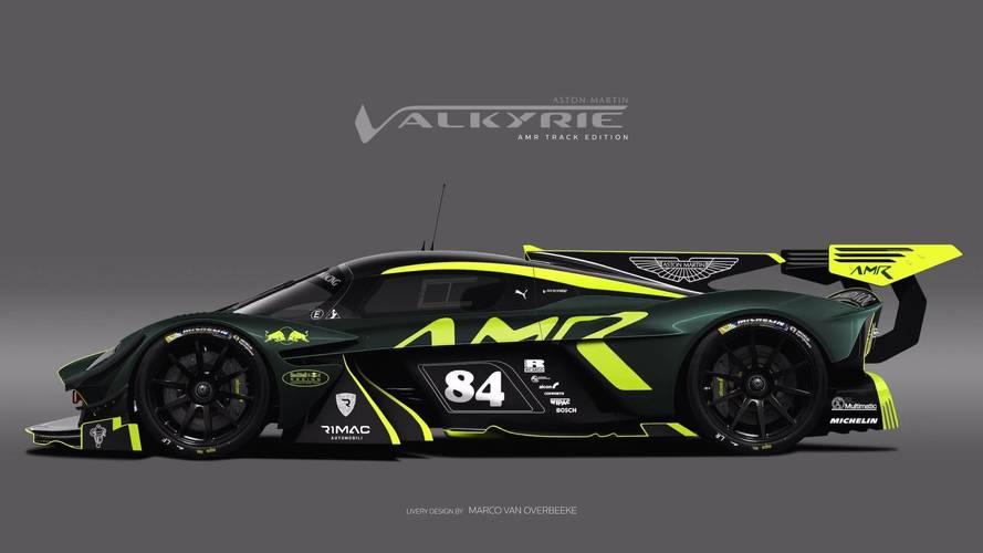 Aston Martin Valkyrie Liveries