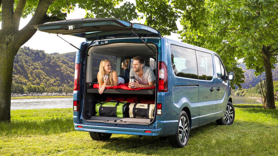 Opel Vivaro Life Sleeps Two For Extended Camping Trips