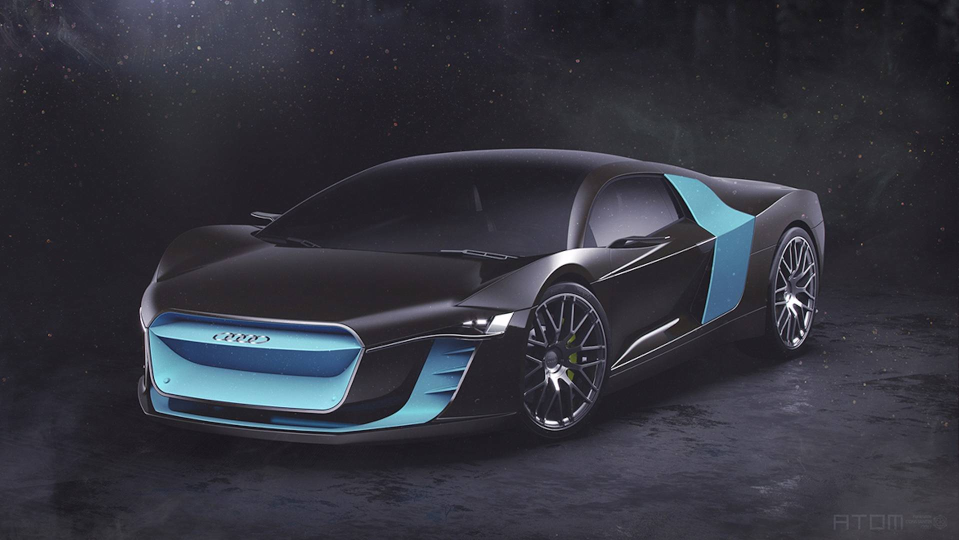 Audi ATOM Supercar Concept Previews A Futuristic R - Audi super car