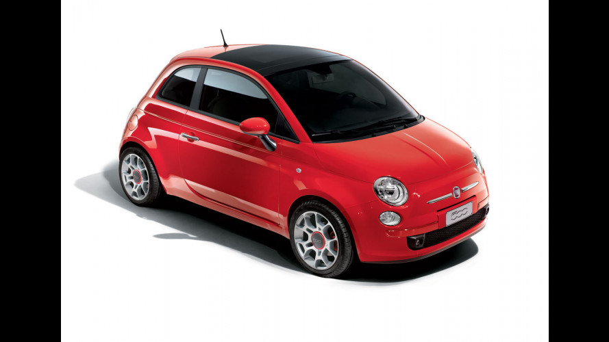 Fiat 500 courtesy car per la rete Ferrari