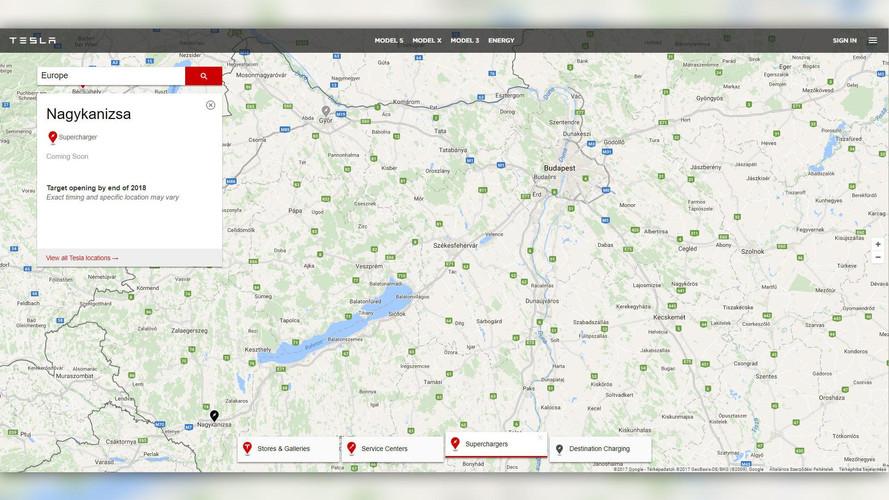Győr után Nagykanizsán is építkezésbe kezd a Tesla