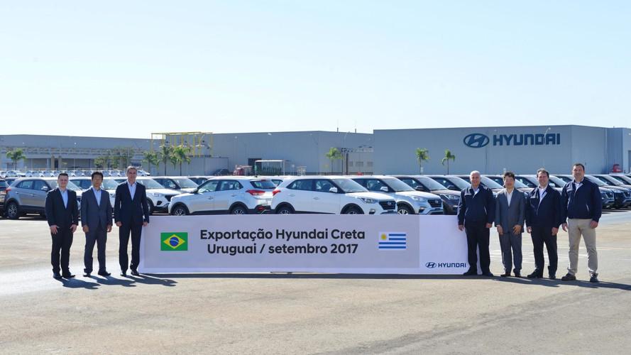Hyundai Creta começa a ser exportado também para o Uruguai