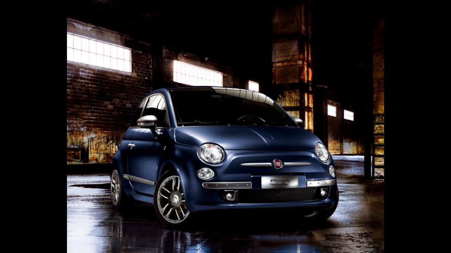 Fiat 500 By Diesel, anche in blu e con Multijet II