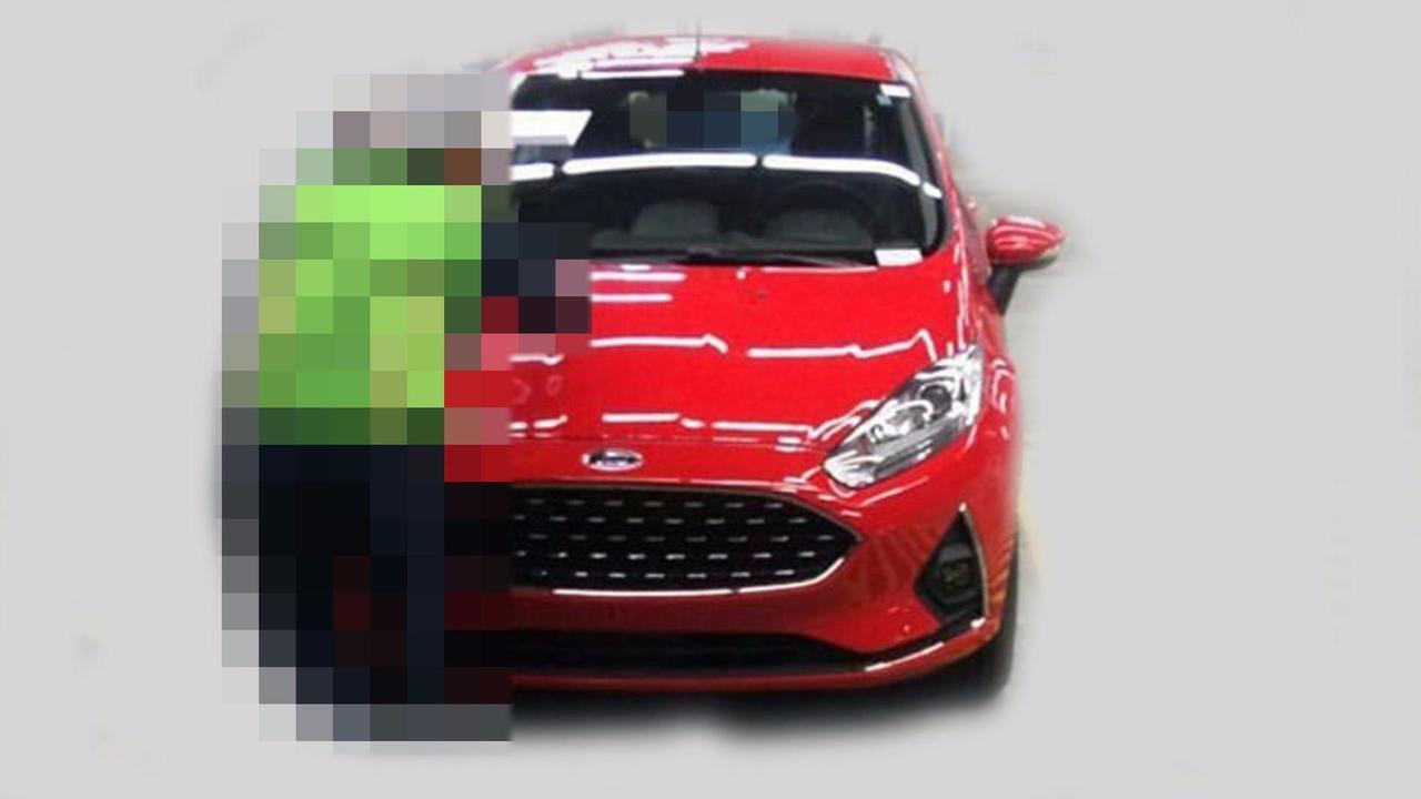Ford New Fiesta 2018 - Flagra