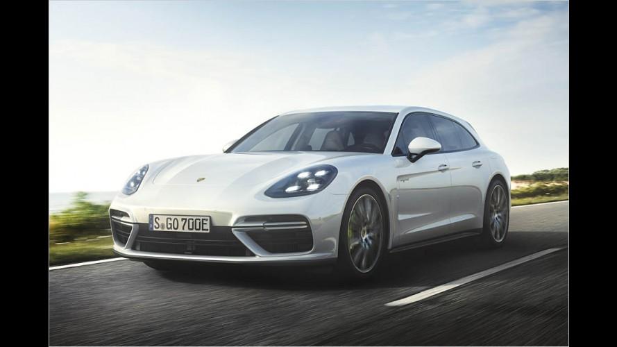 Porsche bringt Panamera Turbo S E-Hybrid Sport Turismo