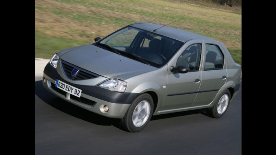 La Dacia Logan NON SI RIBALTA
