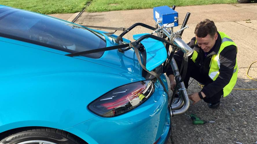 Porsche Cayman Emissions Equipment