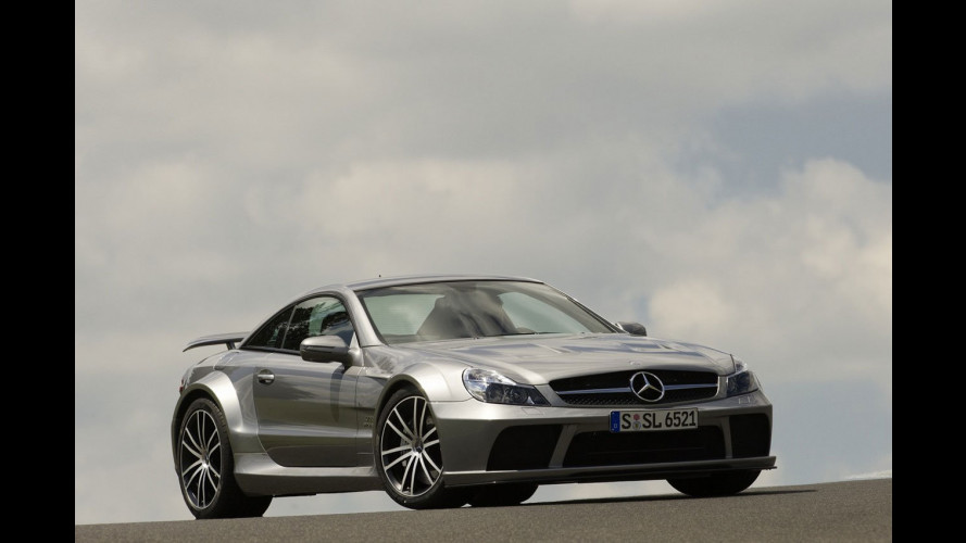 La nuova Mercedes SL65 AMG Black Series