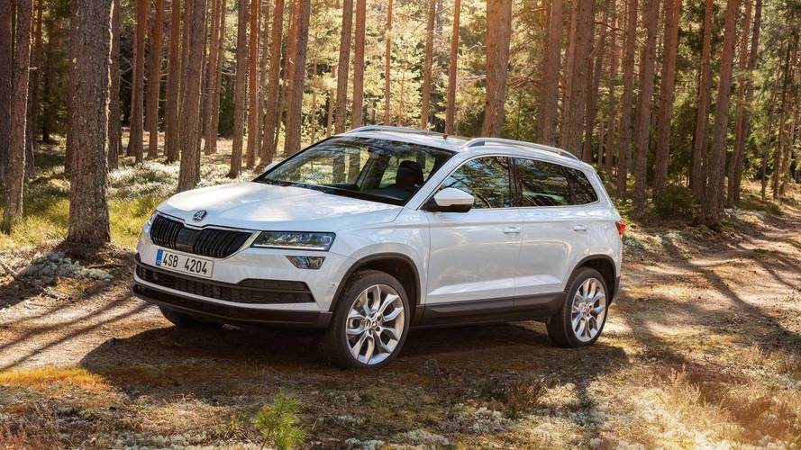 New Skoda Karoq production line opens