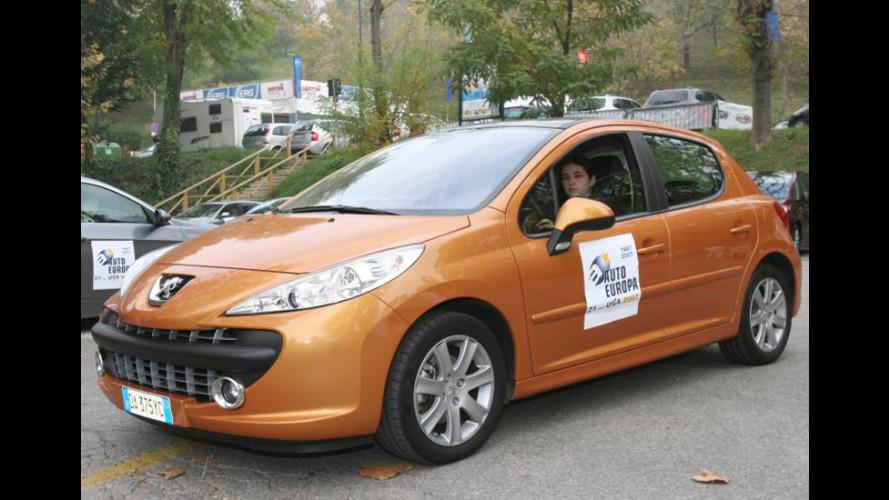 Peugeot 207 è Auto Europa 2007