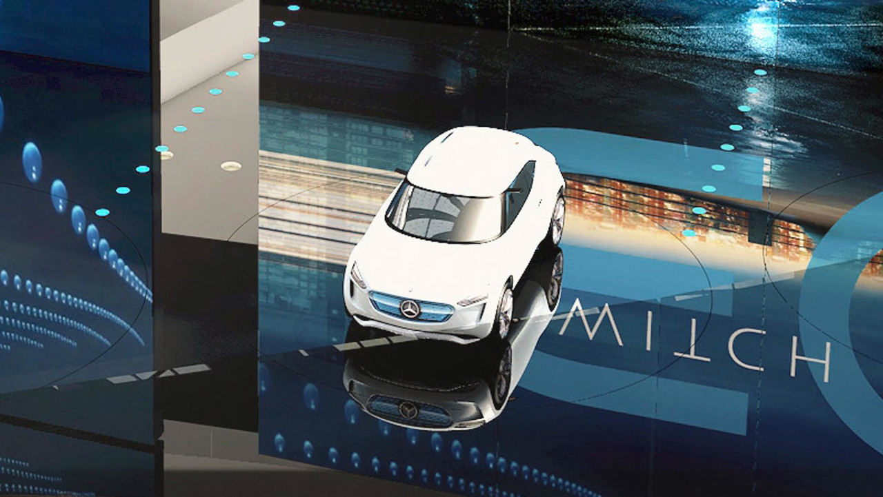 New Mercedes EQ concept teaser