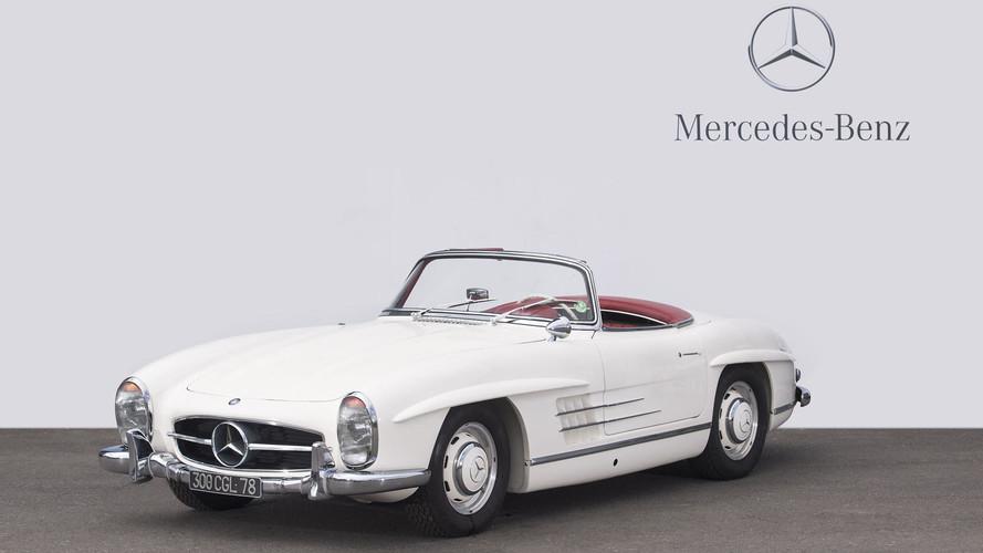 Mercedes-Benz Francia subasta dos 300 SL de su colección privada