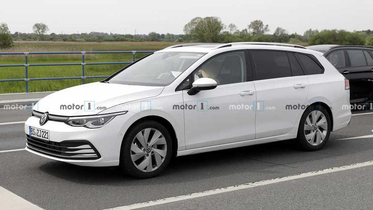 2020 VW Golf Variant Yeni Casus Fotoğraflar