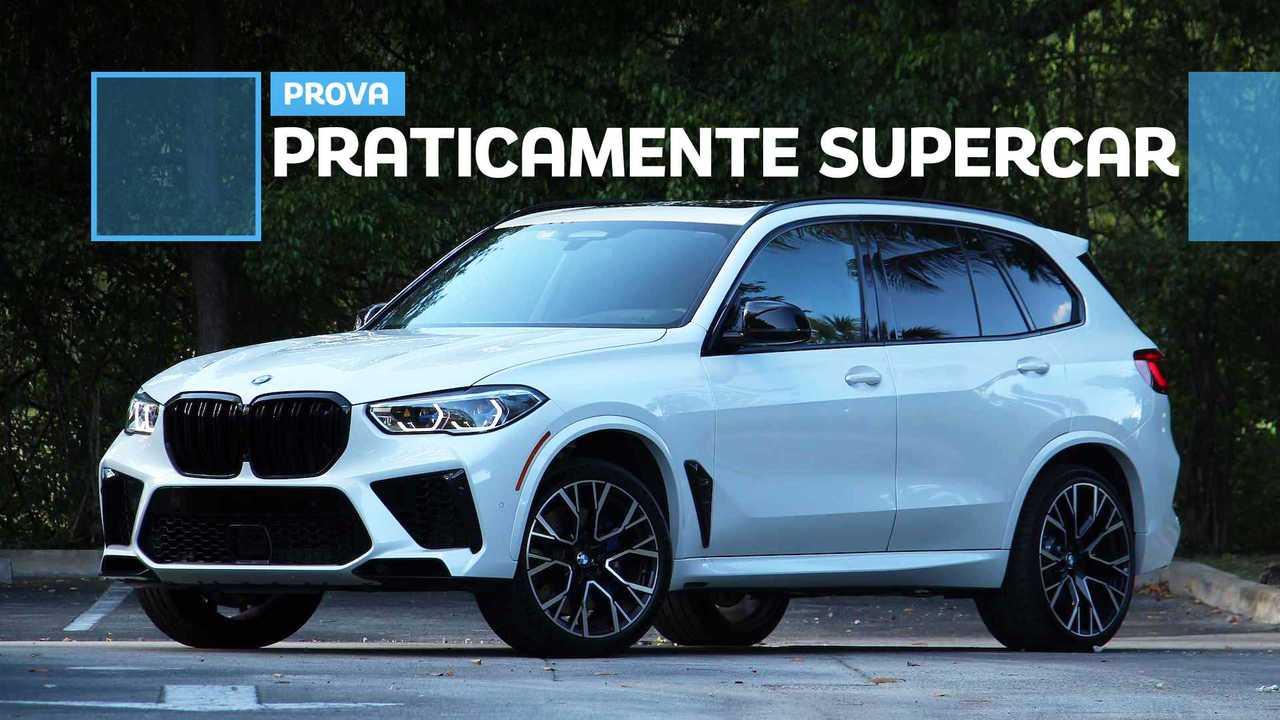 BMW X5 M Competition, la prova su strada