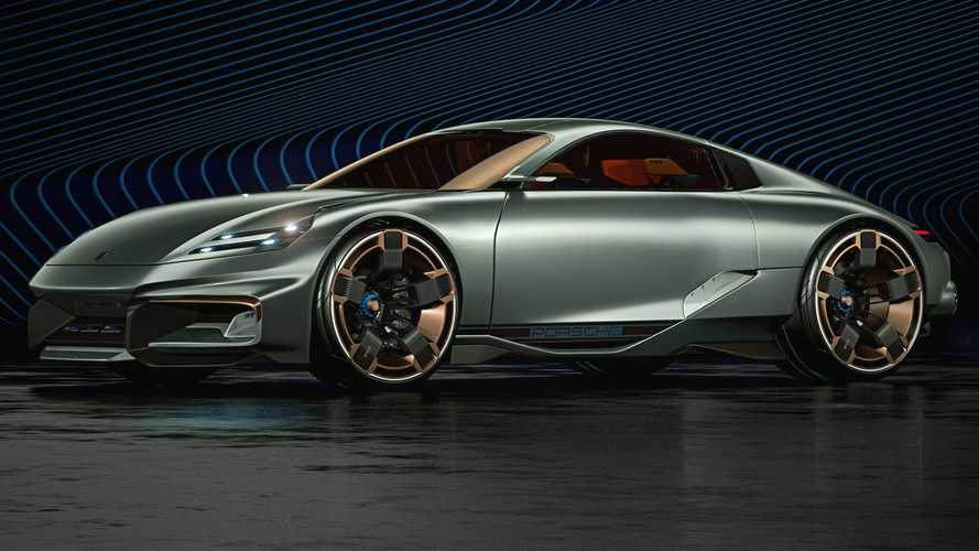 This Porsche Cyber 677 Concept Looks Like A 911 From The Future