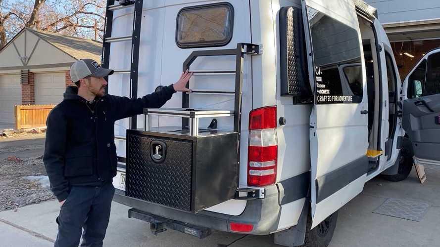 CoPilot FOMO, un Mercedes Sprinter camper muy recomendable