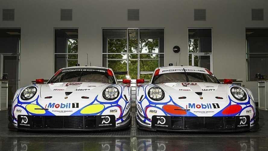 Porsche unveils 911 GT1 retro liveries for Petit Le Mans