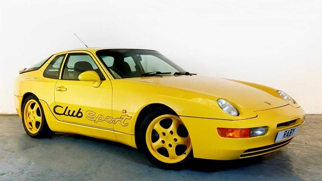 Classics for sale: Porsche 968 Club Sport