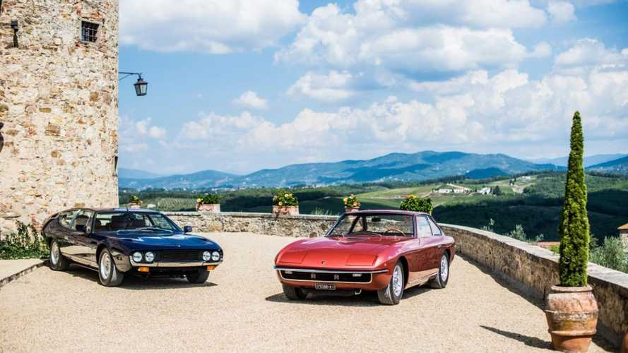 Lamborghini takes Espada and Islero on tour for 50th anniversary