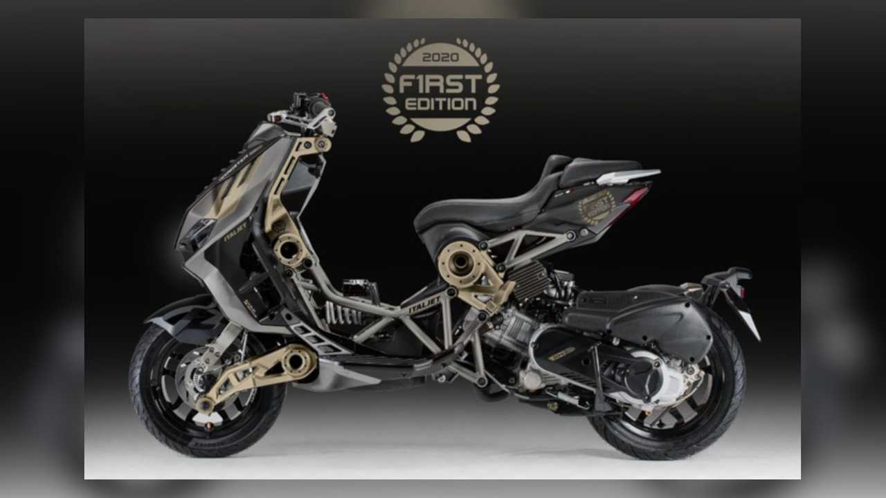 Italjet Dragster 2020 Limited Edition