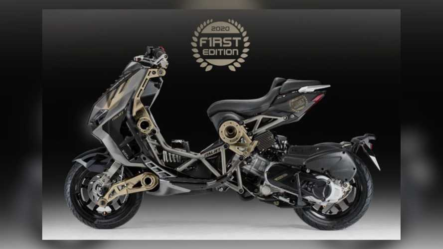 Italjet Dragster 2020 Limited Edition Is Gold, Black, And Good All Over