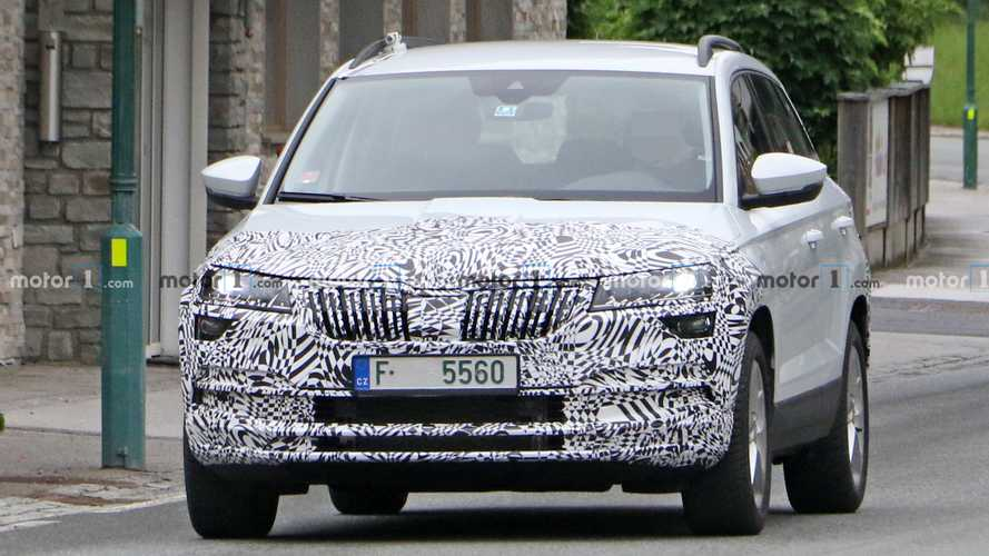 Skoda Karoq facelift spied for the first time