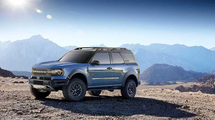 Ford Bronco Sport renderings
