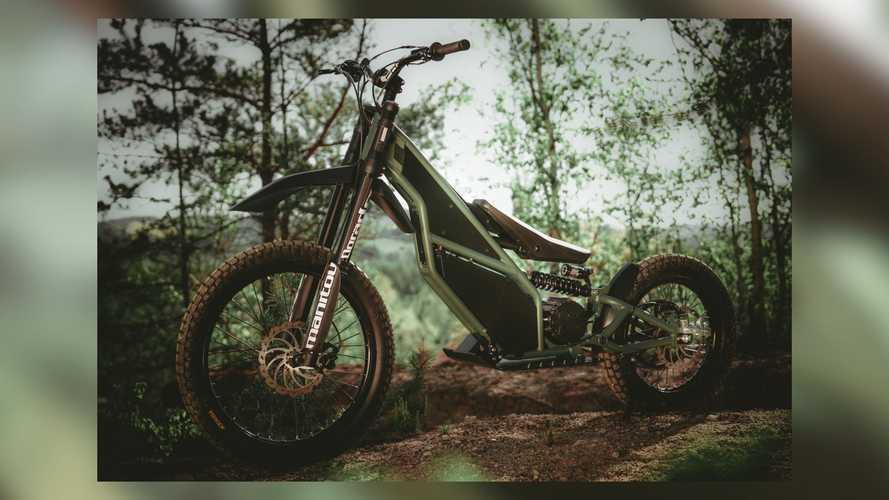 Kuberg Ranger Is A Strange Electric Dirt Bike/Scooter Hybrid