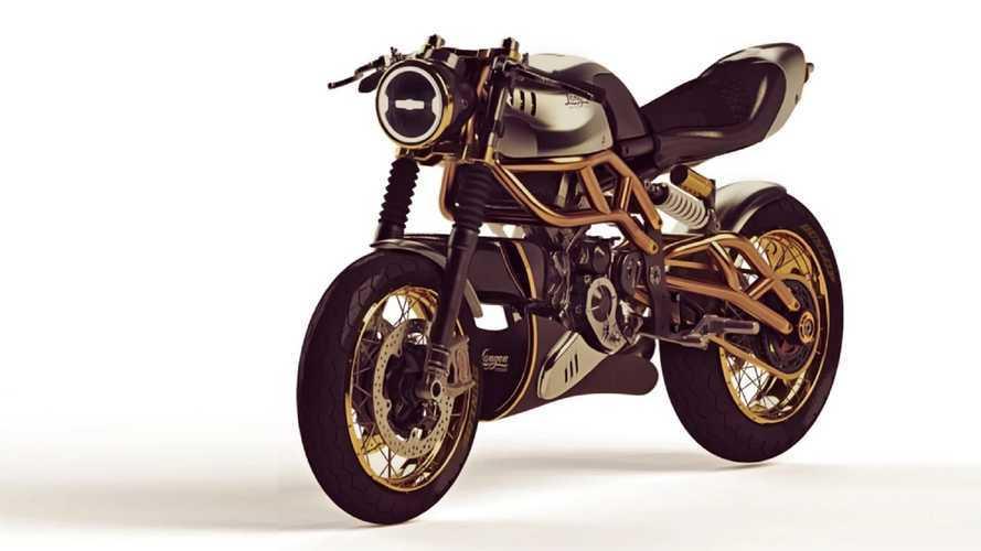 Langen Motorcycles, omaggio dorato al due tempi italiano