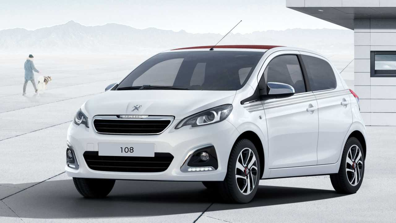 Peugeot 108 Top Collection