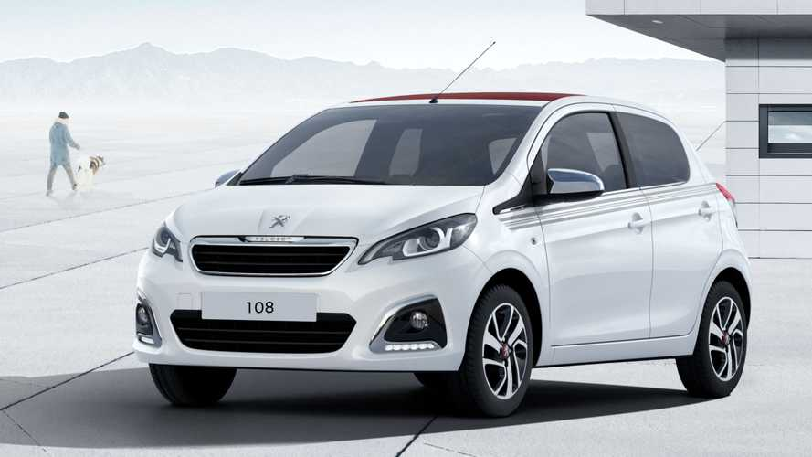 Peugeot 108 Top Collection: Sondermodell mit Stoffverdeck zu neuen Leasingraten