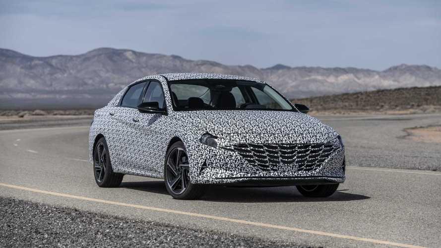 «Подогретая» Hyundai Elantra: первые официальные фото