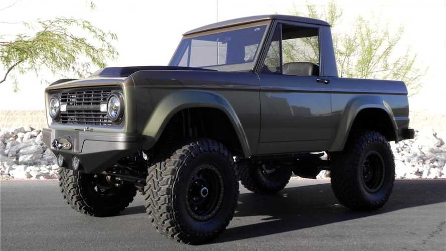 This brash 1966 Ford Bronco restomod is surprisingly tasteful