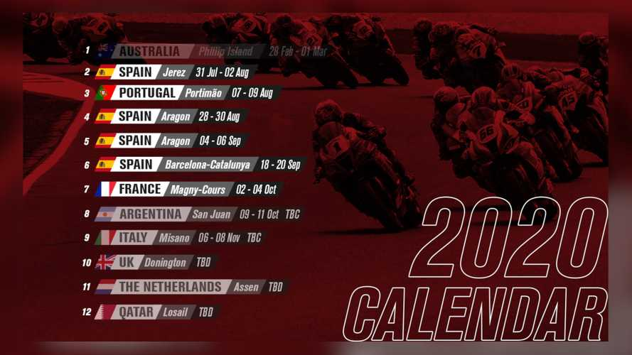 WSBK Announces Its Revised 2020 Racing Calendar
