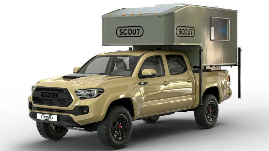 Yoho Camper Shell Is A Feature-Rich Topper For Small Pickup Trucks