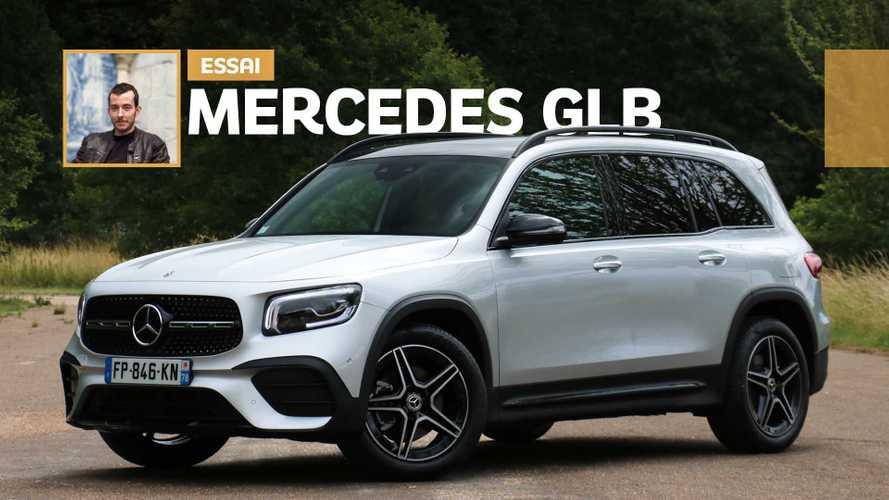 Essai Mercedes GLB (2020) - Sept places et gabarit contenu