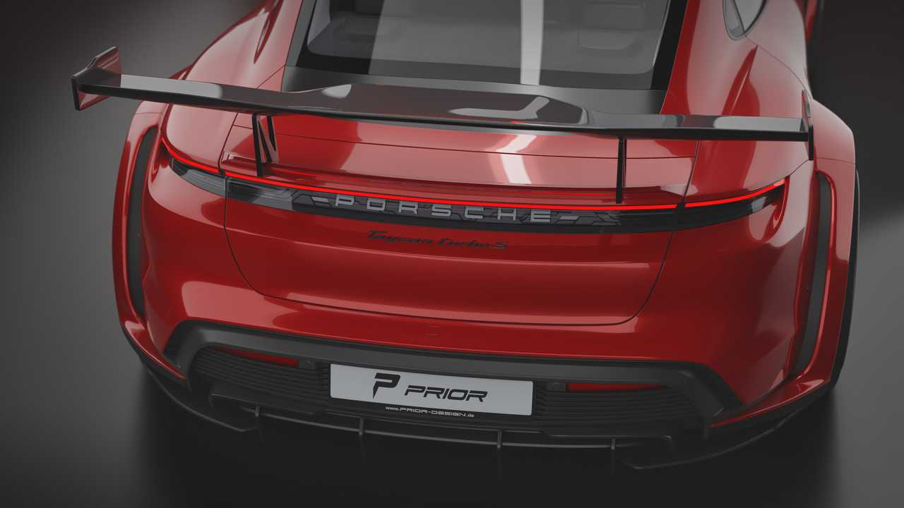 Porsche Taycan Turbo S Is Pimped Up By Prior Design Newsy Today