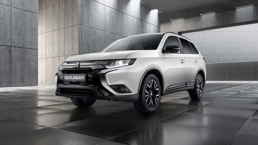 Mitsubishi подготовила для россиян особый «черно-белый» Outlander