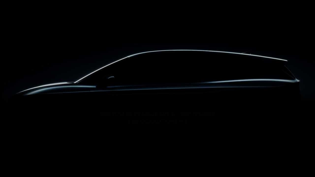 2021 Skoda Enyaq side profile teaser