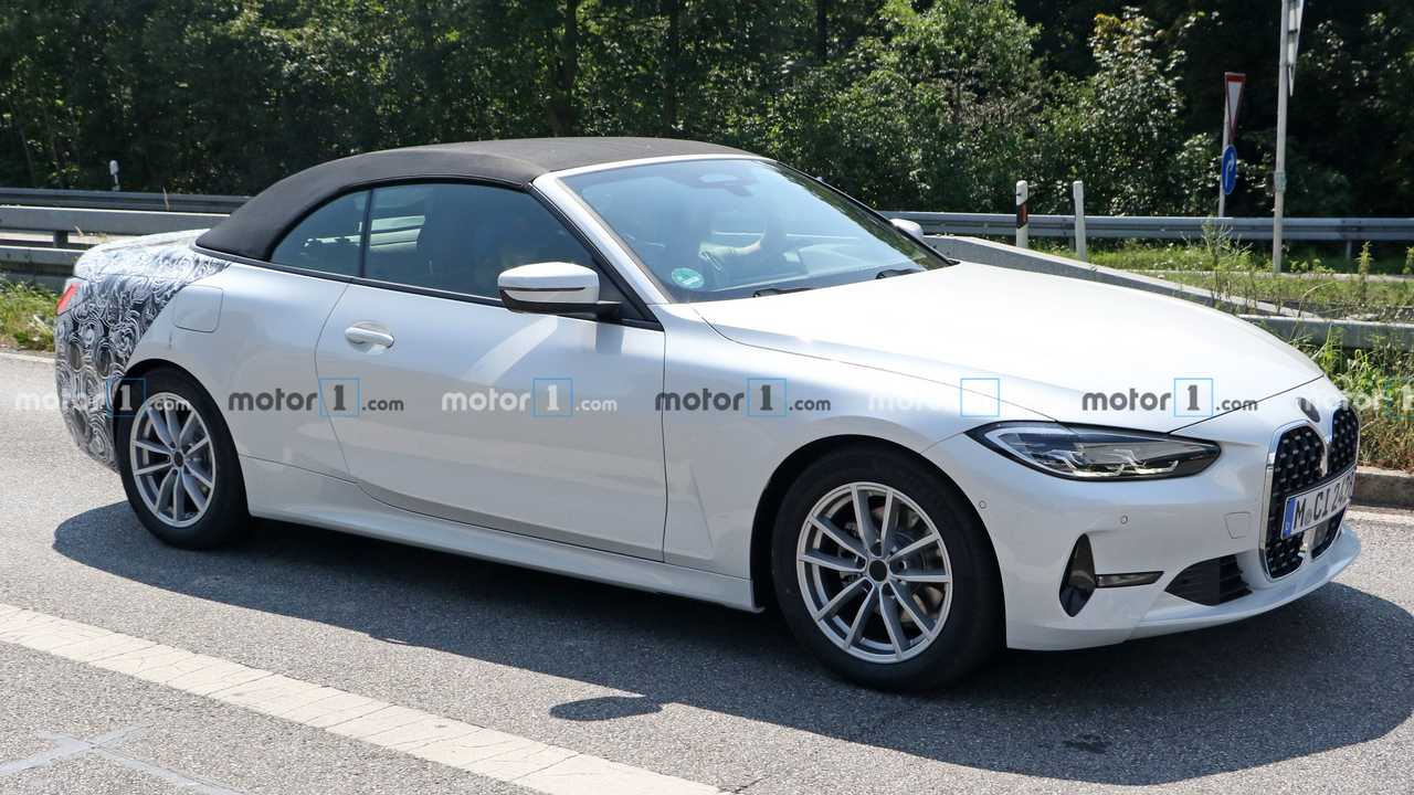 New BMW 4 Series Convertible Front Profile