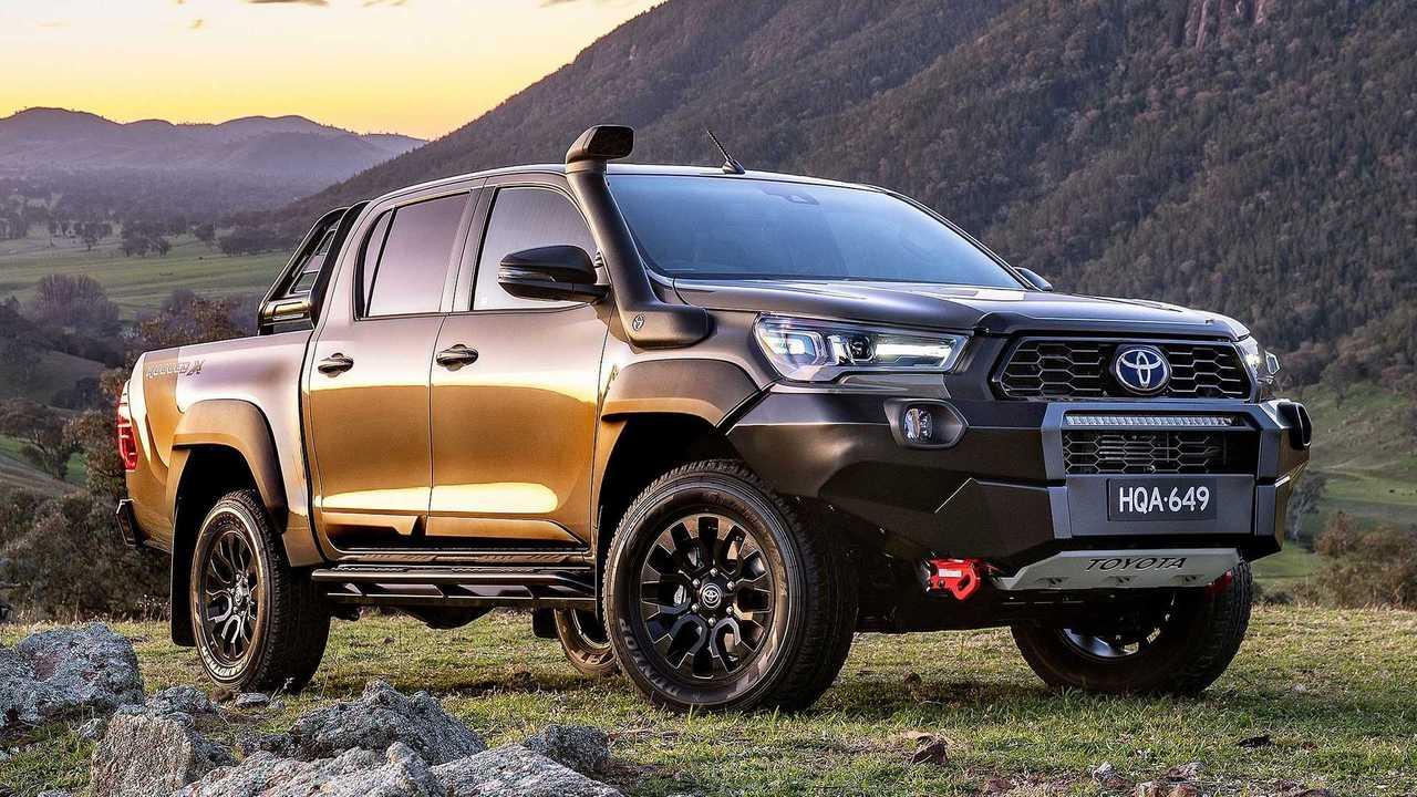 Toyota Hilux 2021 - Austrália destaque