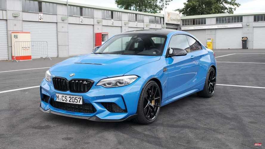 Bazı kişiler, BMW'nin kaldırdığı V10 motorlu M2 videosunu kaydetmiş