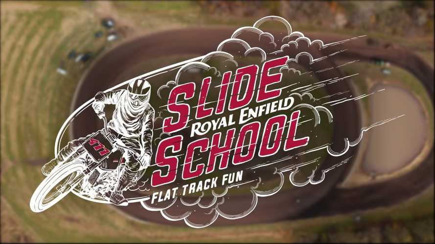 Learn The Art Of Flat Track Racing On A Royal Enfield Himalayan FT411