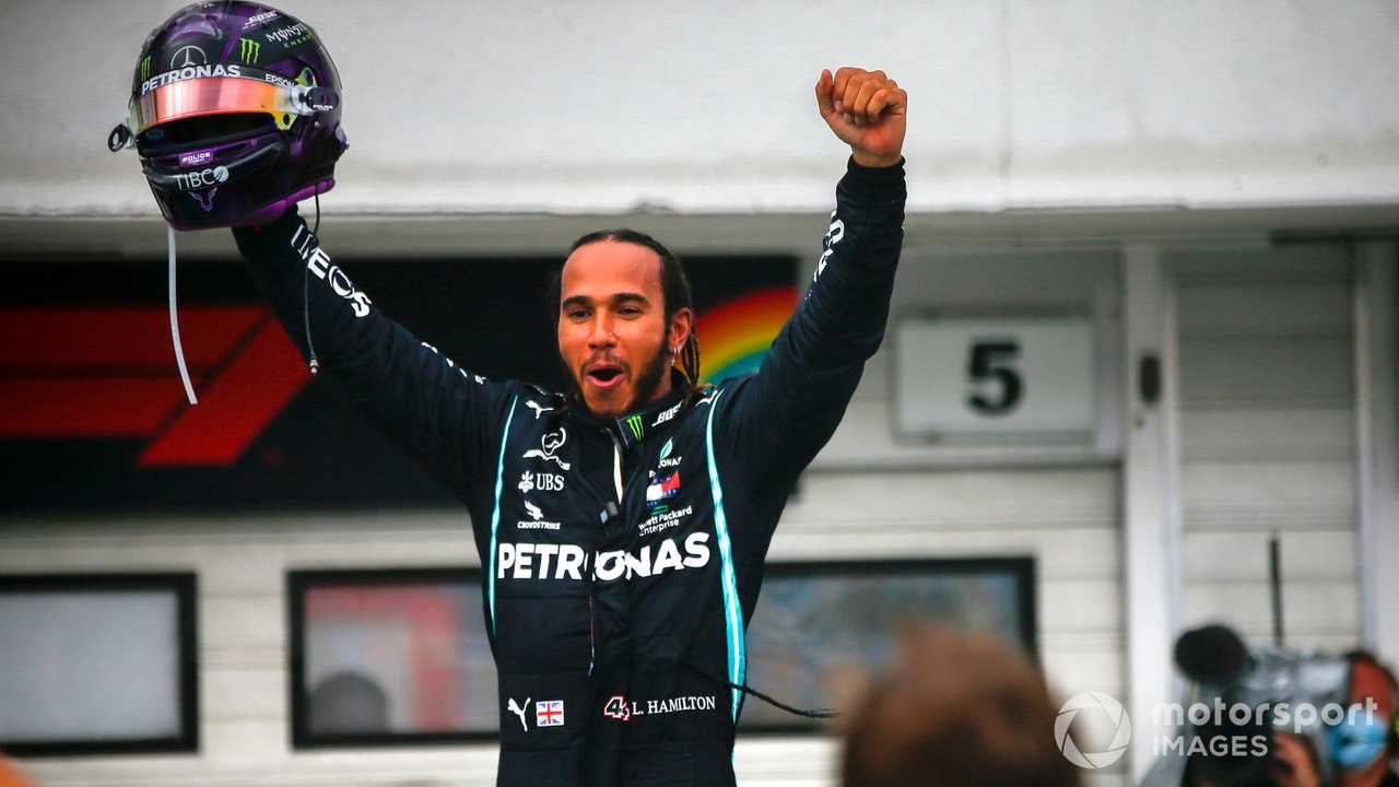 Lewis Hamilton wins Hungarian GP 2020